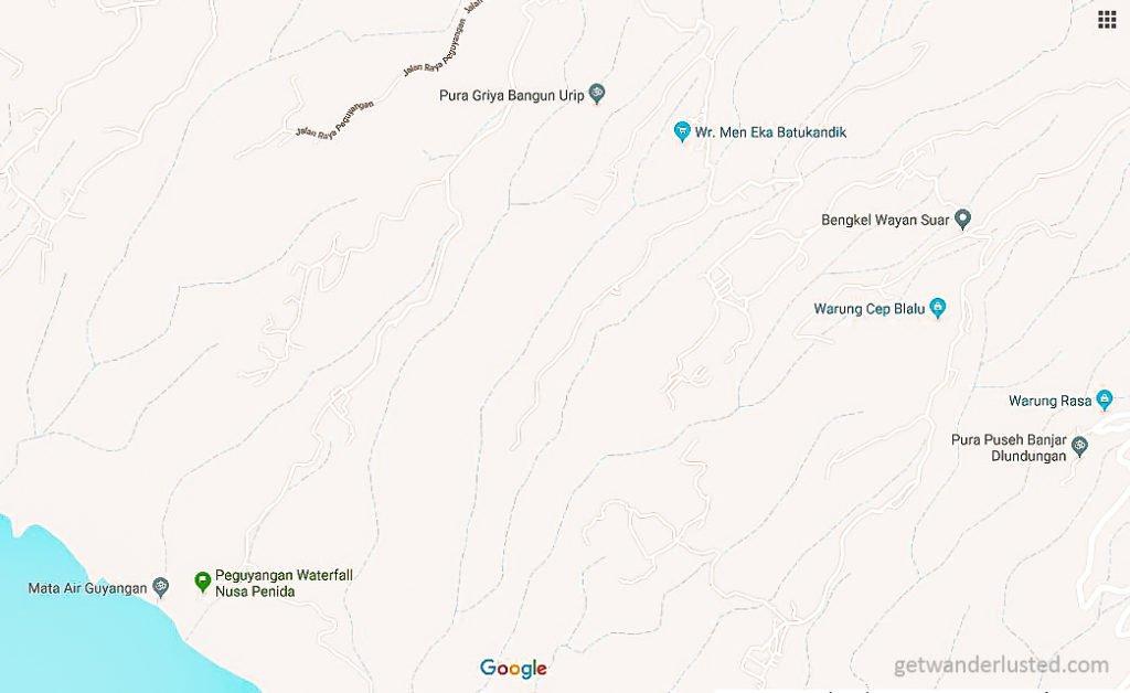 Nusa Penida Map-3